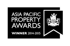 Asia Pacific Property Awards winner 2014-2015
