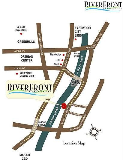 Riverfront_Locatin_and_VICINITY_MAP