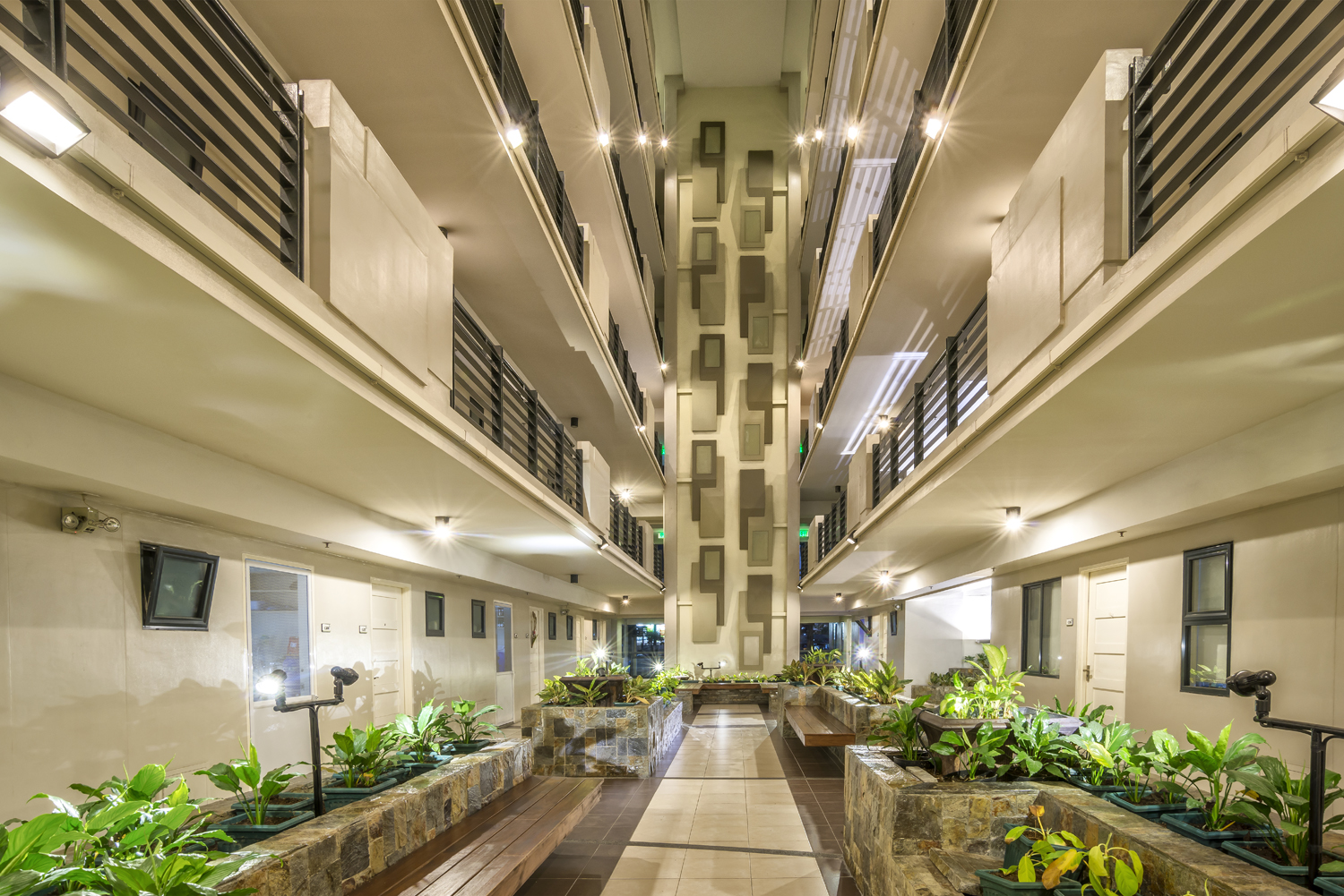 flair-towers-Landscaped Atriums